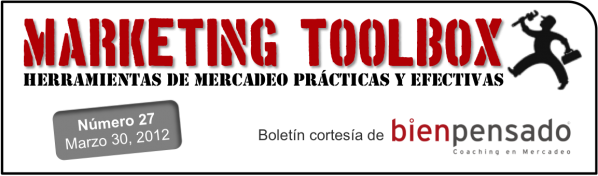 Marketing Toolbox - boletin de marketing de Bien Pensado