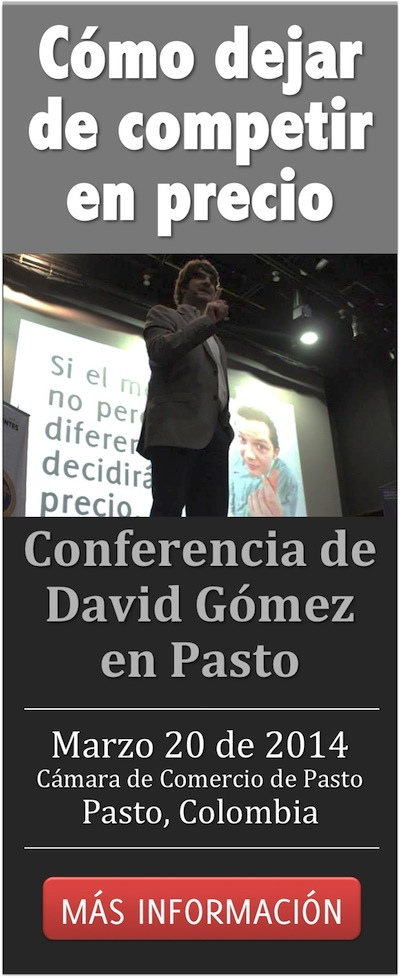 Conferencia David Gomez en Pasto Marzo 20 2014