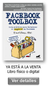 Libro Facebook Toolbox disponible en físico y digital