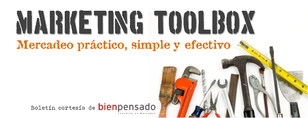 Marketing Toolbox: Boletín de mercadeo