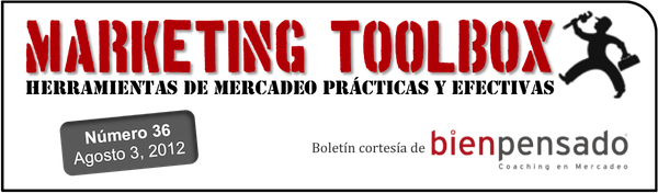 Marketing Toolbox - boletín de marketing de Bien Pensado