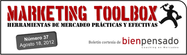 Marketing Toolbox - Boletín de mercadeo de Bien Pensado