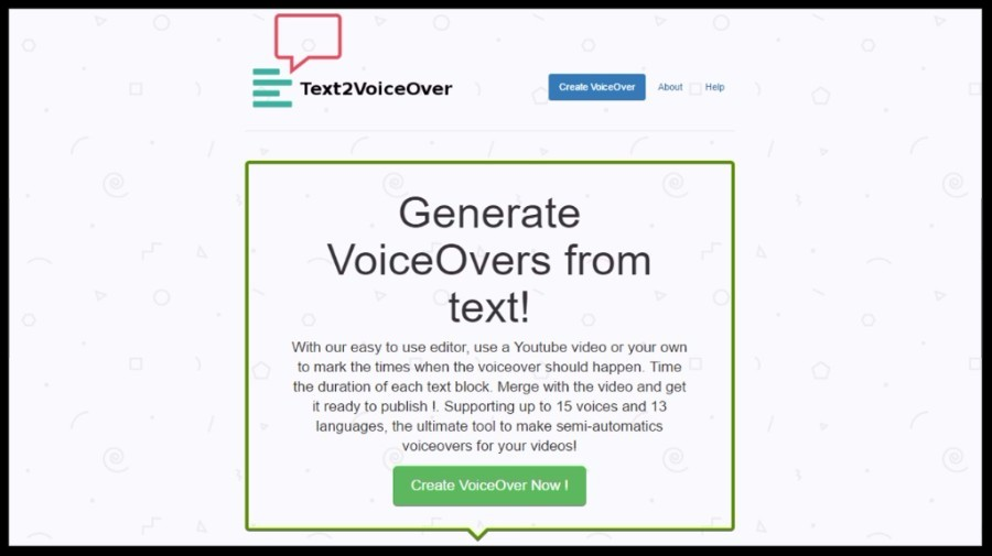 Text2VoiceOver