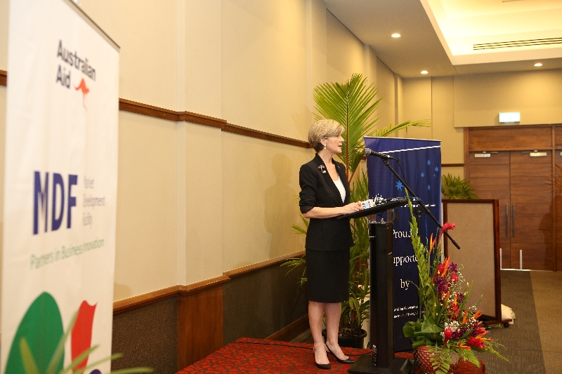 Ms. Bishop announces the Australian Government's commitment towards Fiji