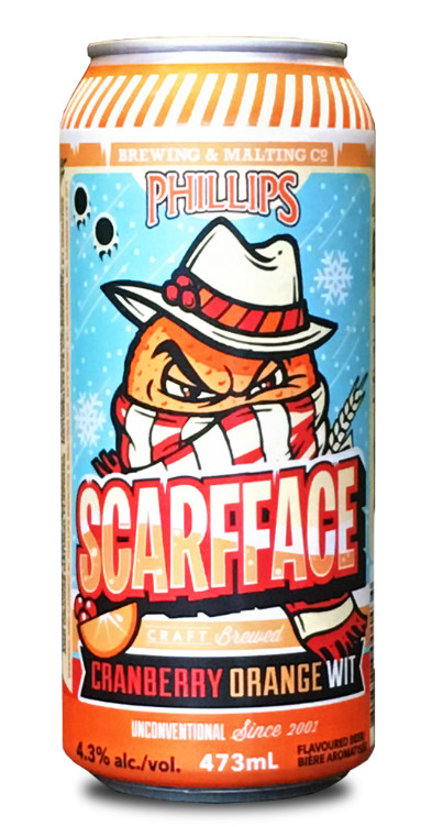 Scarfface Orange Cranberry Wit