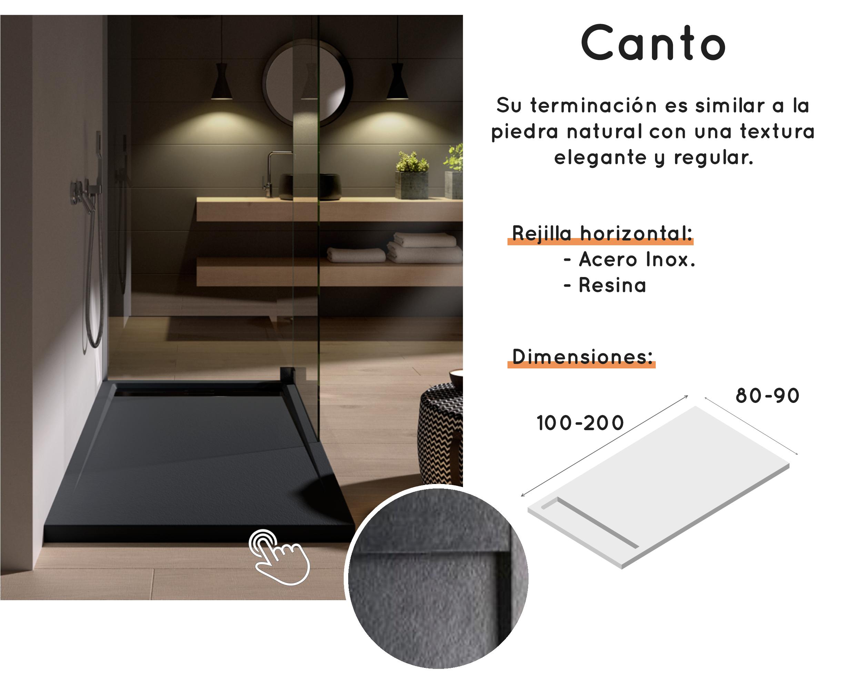 Distribución de platos de ducha Doccia Canto - Saneamientos Dimasa