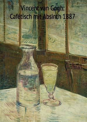 van Gogh: Cafétisch mit Absinth