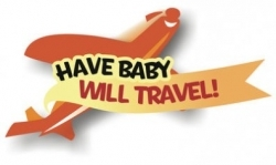 Have Baby Will Travel Airplane Logo