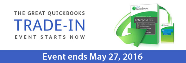 The Great QuickBooks Trade-In Event