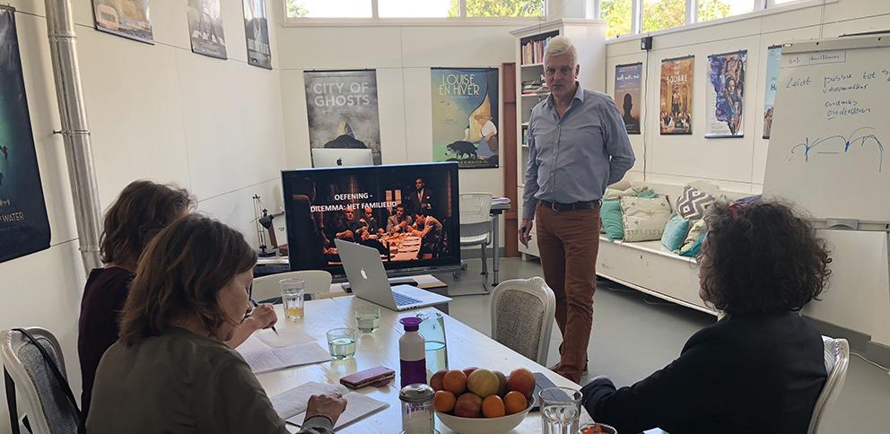 workshops storytelling en scenarioschrijven