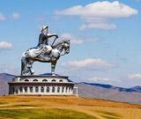 Statue of Genghis Khan, Mongolia