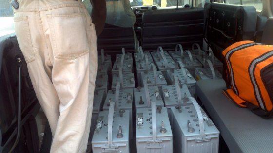 24 Deep Cycle Batteries for Kikongo