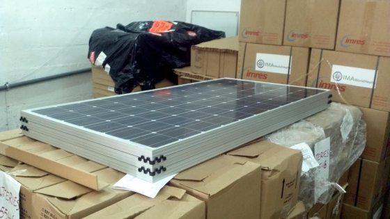 6 Large Capacity Solar Panels for Kikongo