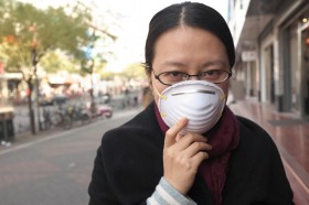 Does air pollution cause COPD?