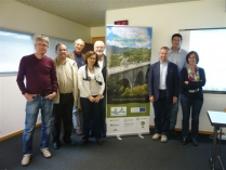 """The consortium team of the project """"Greenways4Tour"""""""