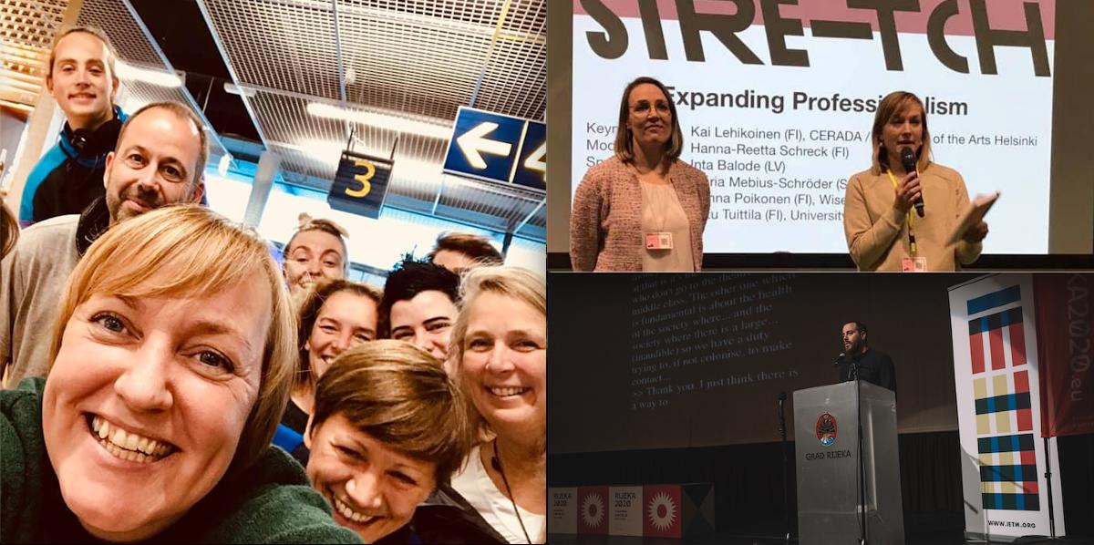 Selfie med glade deltagere efter keðja-mødet i Turku. Foto: Lene Bang