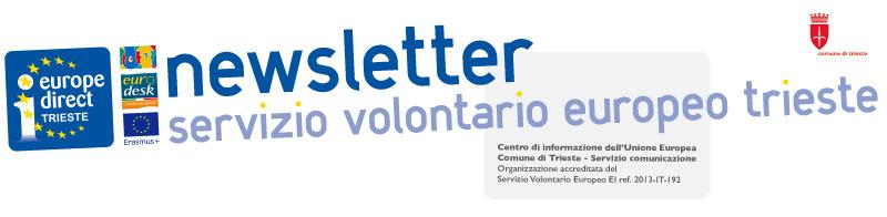 Newsletter Servizio Volontario Europeo