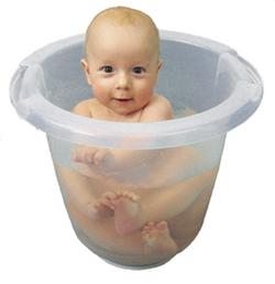 how to bathe a newborn