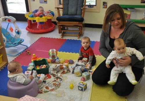 postpartum fitness --childcare at the YMCA