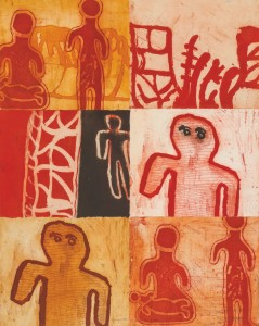 A set of thumbnails showing Aboriginal Art