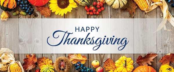 Happy Thanksgiving from Hughes Supply