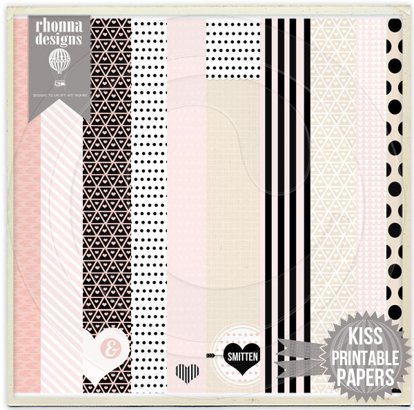 KISS Printable Papers