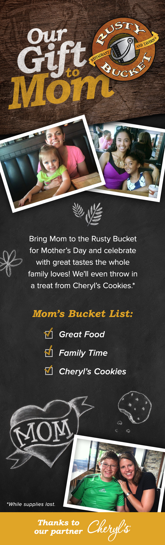 Our Gift to Mom!