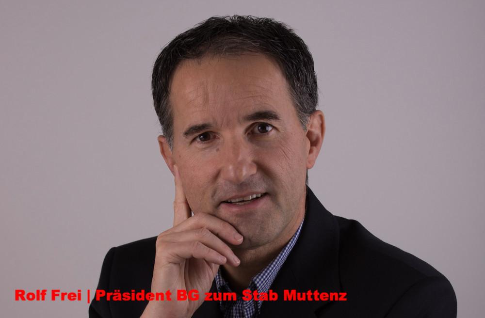 Rolf Frei | Präsident BG zum Stab Muttenz