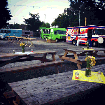 Atlanta's Food Truck Park (image from Facebook)