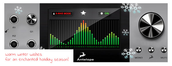 Antelope Audio's newletter
