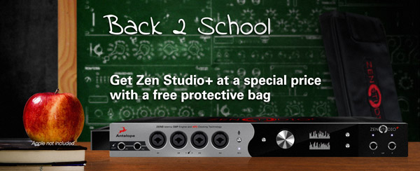 Back2School promo - Zen Studio+