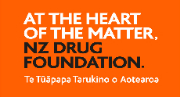 NZ Drug Foundation logo.