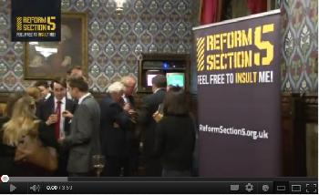 RS5 Parliamentary Reception