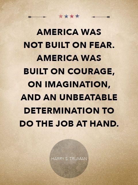 Harry S. Truman quote