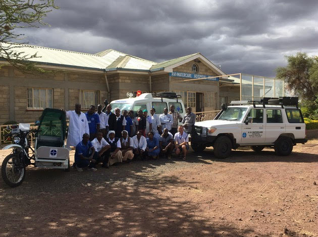 Project Isiolo Team and Hospital