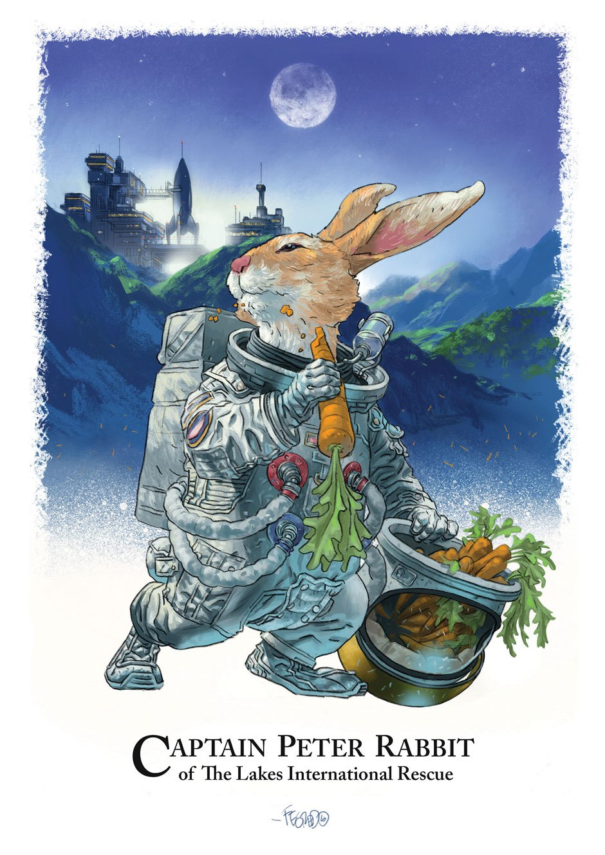 Beatrix Potter Reimagined by Duncan Fegredo