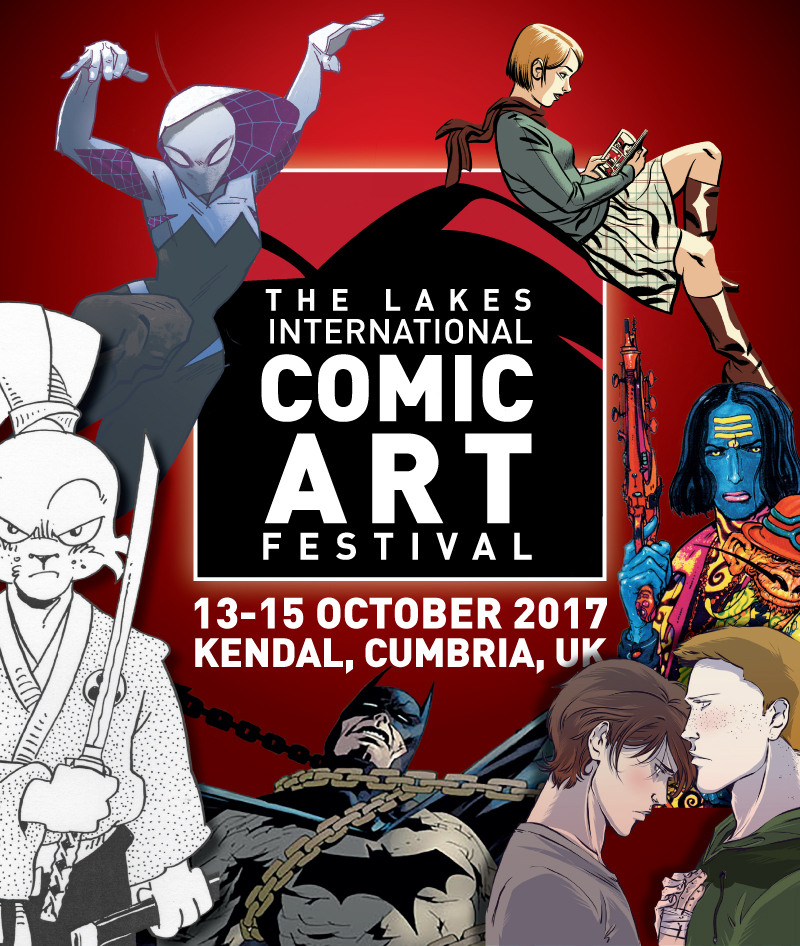 Lakes International Comic Art Festival – Full Guest List Revealed
