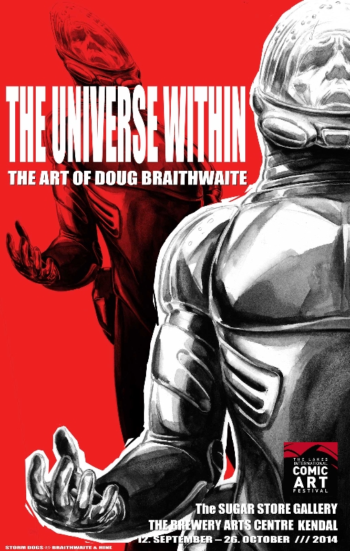 Universe Within - Doug Braithwaite Exhibition Poster