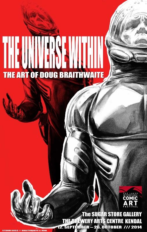 Universe Within - Doug Braithwaite Exhibition Poster