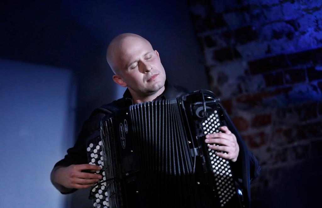 Accordionist Niko Kumpuvaara