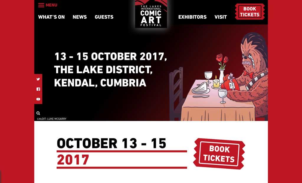 New Festival web site