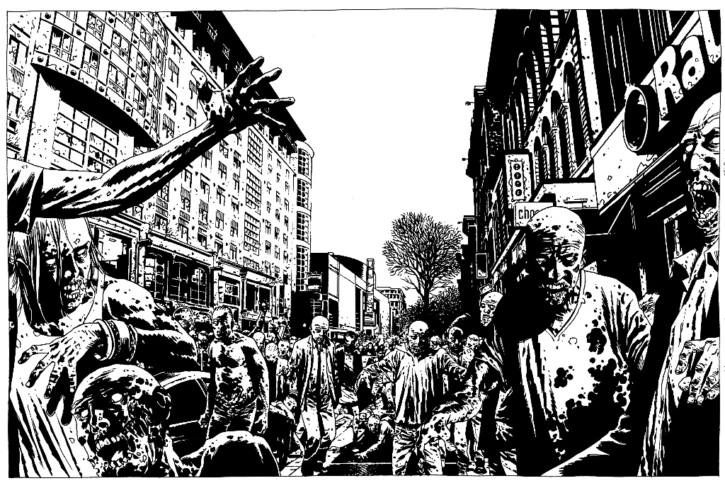 Art by Charlie Adlard, one of the Lakes International Comic Art Festival guests for 2016