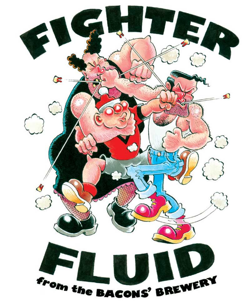 "VIZ Beer - ""Fighter Fluid"""