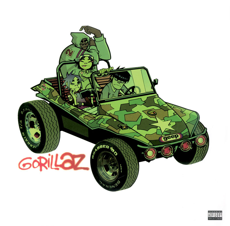 Gorillaz - Art by Jamie Hewlett