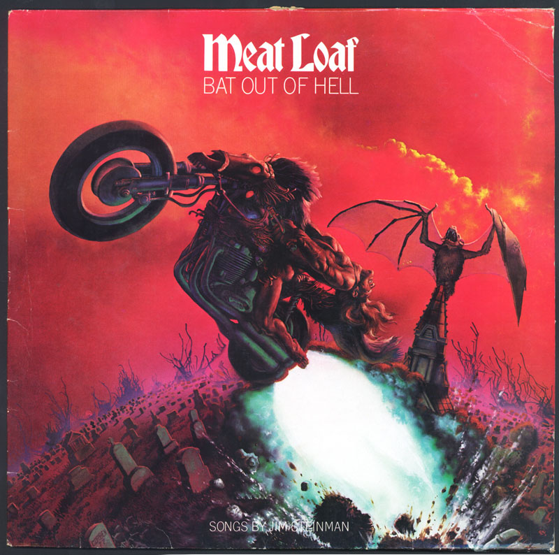 Meatloaf: Bat out of Hell - Art by Richard Corben