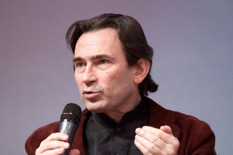 Benoît Peeters, 2010. Photo George Seguin (Okki)