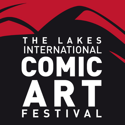 Lakes International Comics Art Festival Logo