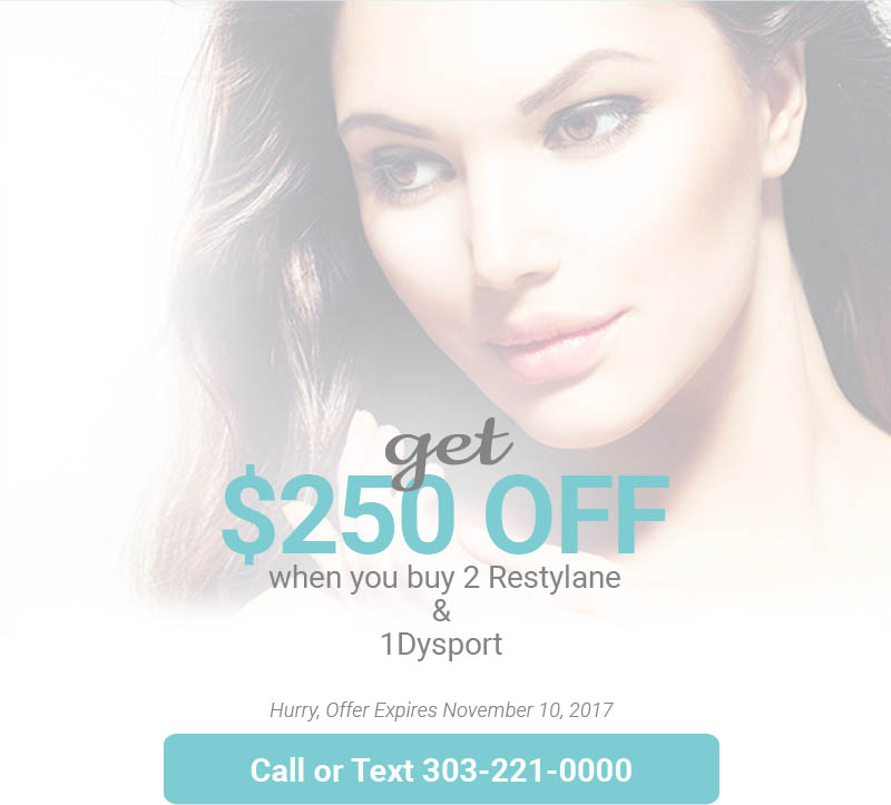 Get $250 Off Restylane and DySport
