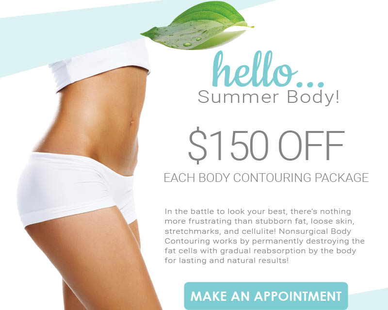 SAVE $150 Off Body Contouring
