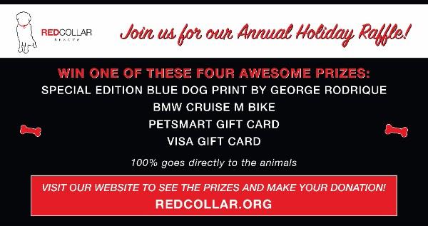Enter the RCR Annual Holiday Raffle!